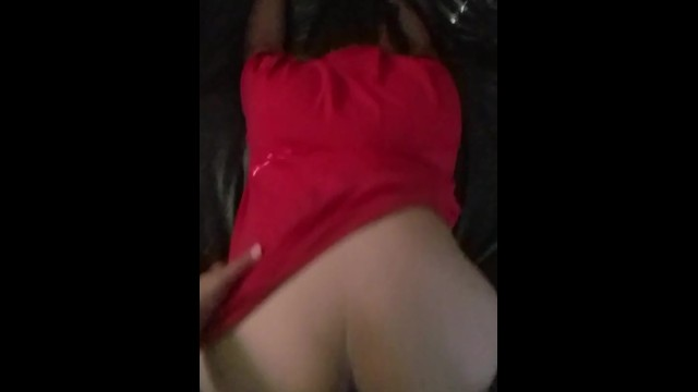 cum oozing from her pussy